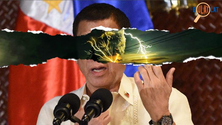 Rodrigo Duterte's unnatural disasters