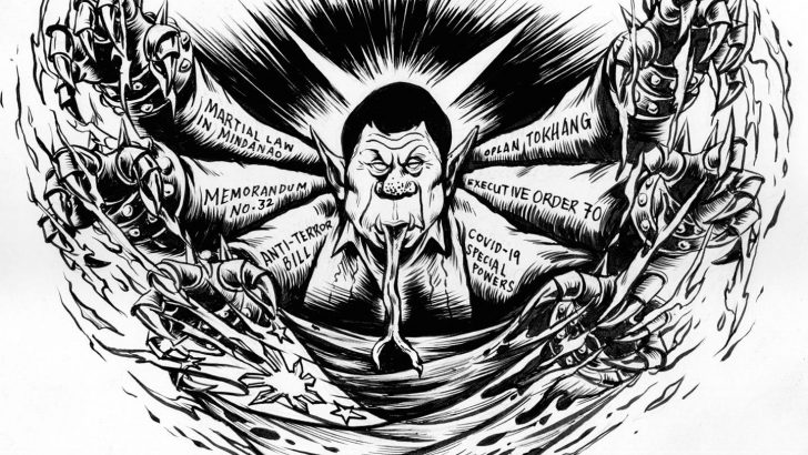 Duterte is a paper tiger in strategic terms and is in the process of being torn apart