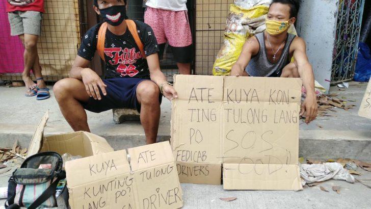 Quezon City parish initiates measures to support pedicab drivers during quarantine