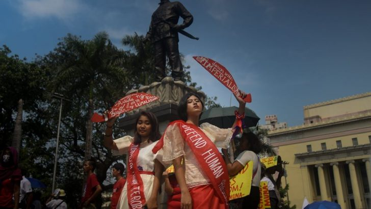 Women rise against violence, dire living conditions under Duterte