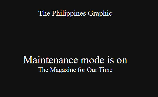Website of PH magazine hacked by unknown parties