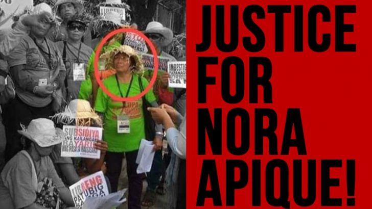 Woman peasant leader killed in Surigao del Sur