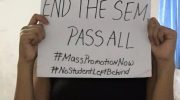Student's death intensifies call for mass promotion