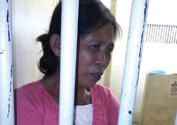 Political prisoner in Tagum dies due to illness