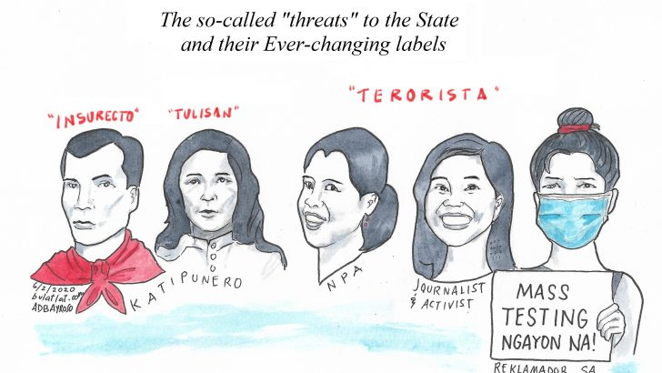 Threats to the terrorist state
