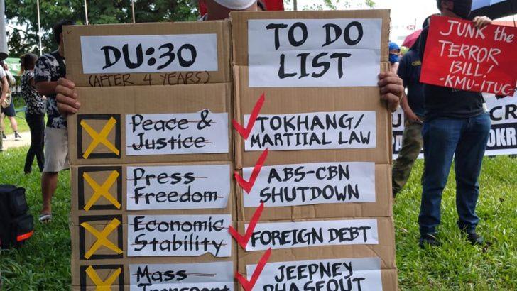Duterte tagged as 'worse than COVID-19 virus'