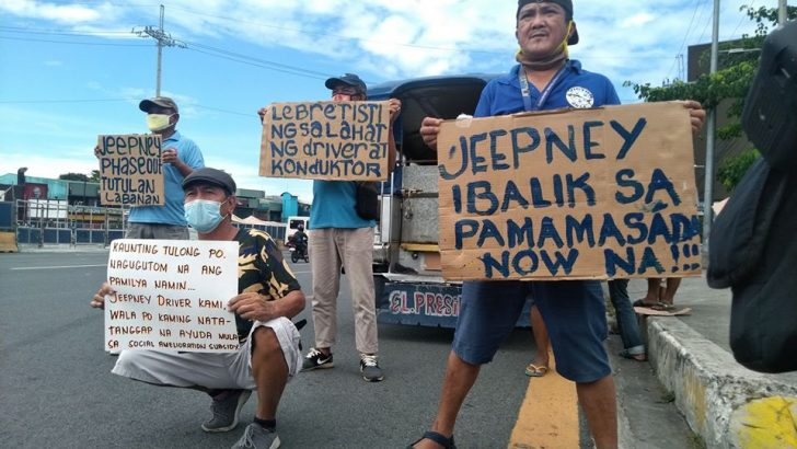 Jeepney drivers still no route of hope