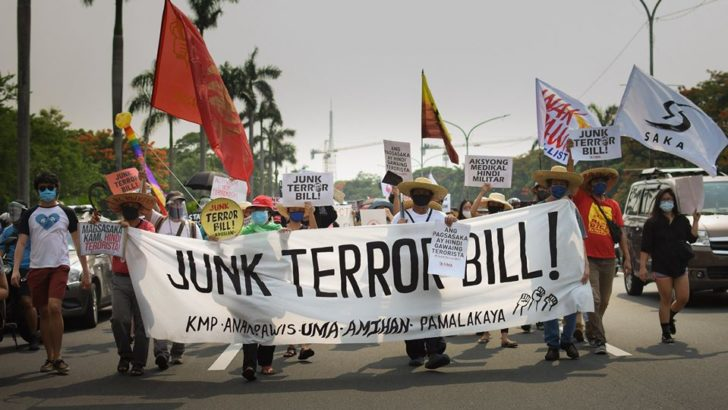Petitioners urge SC to halt enforcement of terror law