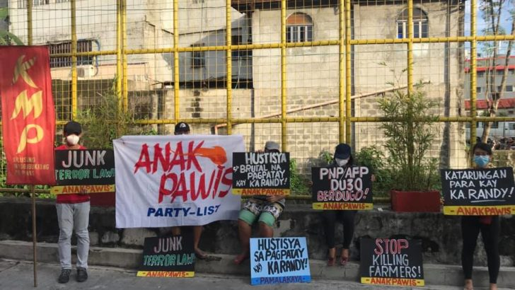 Groups hold Duterte regime accountable for murder of Anakpawis partylist leader