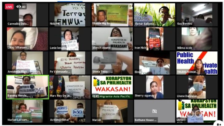 OFWs demand scrapping of PhilHealth amid latest scandal
