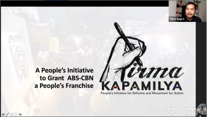 ABS-CBN supporters push for people's initiative to bring ABS-CBN back on air