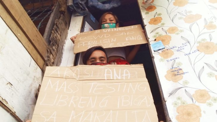 Urban poor in Quezon City left out from gov't aid since March
