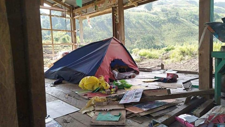 Paramilitary destroys Lumad school; leader blames Duterte for the attack