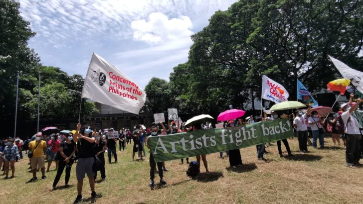 Pinoy woke artists sing of tyranny, rage and hope