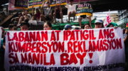 Groups call for halt in 'white sand' dumping in Manila Bay, raise environment, public health concerns