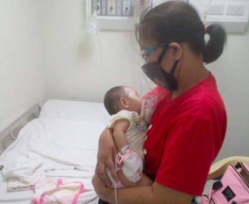 Political prisoner's baby hospitalized after showing COVID-19 symptoms