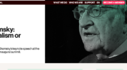 Noam Chomsky: Internationalism or Extinction