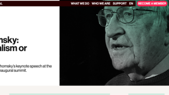 Noam Chomsky: Internationalism or Extinction
