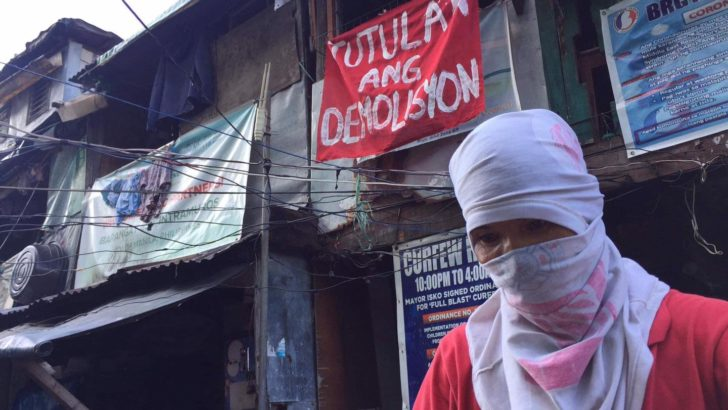 Gov't urged to halt demolition of urban poor communities amid pandemic