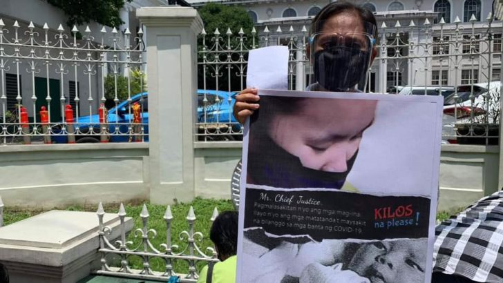 Kin of political prisoners protest Pemberton pardon, urge SC to act on 5-month plea