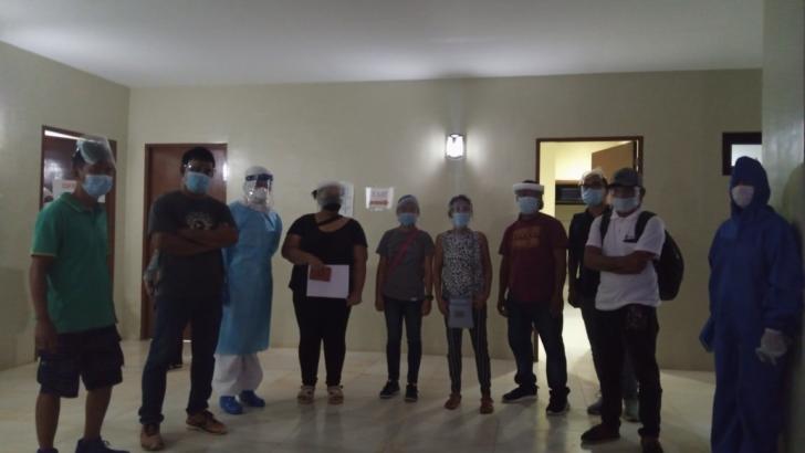 Kin of slain NPA fighters put on quarantine before claiming remains