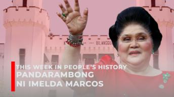 TWIPH: Pandarambong ni Imelda Marcos