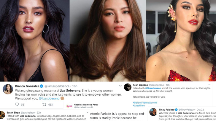 Netizens blast Parlade's red-tagging against Soberano, Locsin, Gray