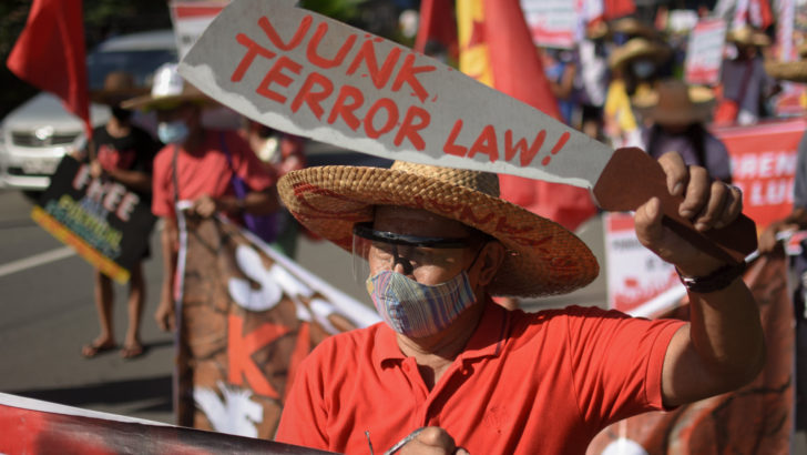 2 Aetas ask SC to 'prevent threatened wrong,' declare terror law unconstitutional