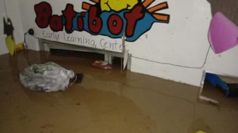Non-profit school for Marikina's poor submerged in flood water