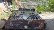 Police destroys Cordillera heroes monument