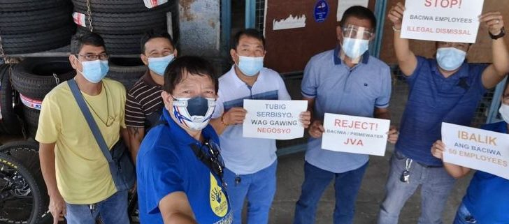 60 Bacolod employees fired as Villar firm takes over public water utility