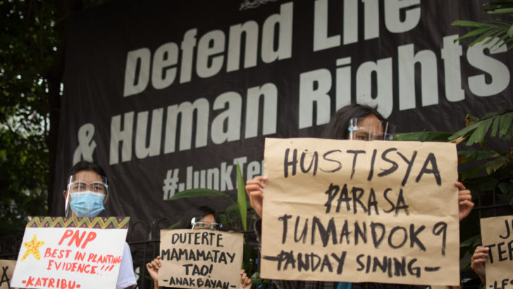 Rights violations in wars vs insurgency, illegal drugs