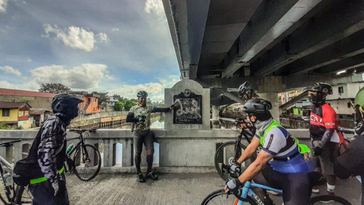Teachers pedal to Fil-Am War historical sites