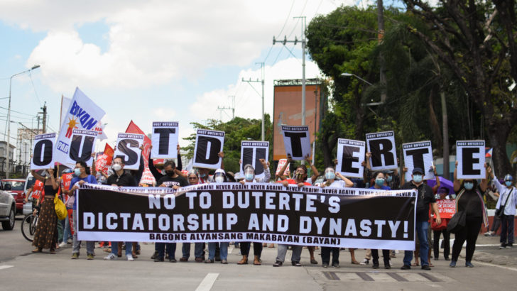 On the 35th anniversary of people power, groups say no to Duterte's tyranny