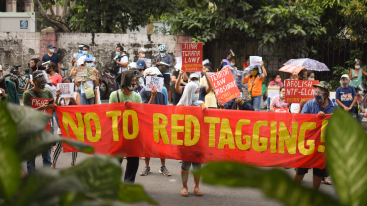 Groups welcome bill to penalize red-tagging