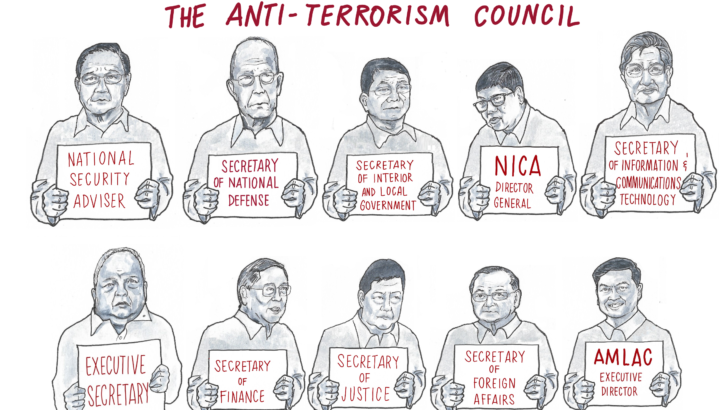 The members of the Anti-Terrorism Council and their track record