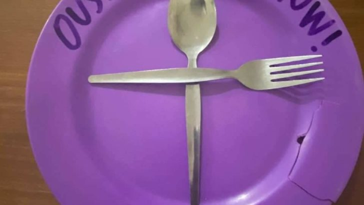 Advocates post photos of empty plates to press aid for the hungry