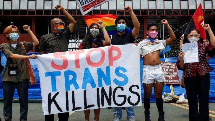 LGBTQIA+ community demands justice for Junjie Bangkiao and Ebeng Mayor