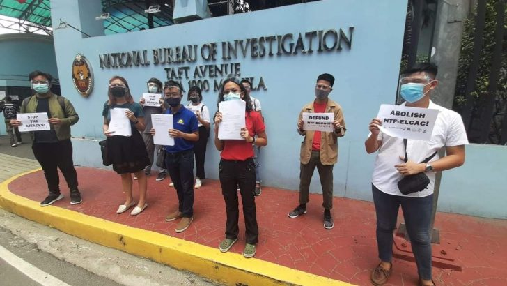Youth groups file complaint against red-tagging