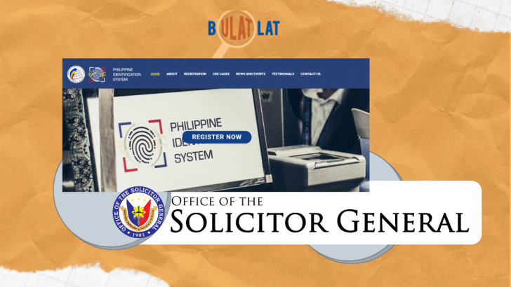 PH Solicitor General data leak is 'massive breach of public trust,' IT group says