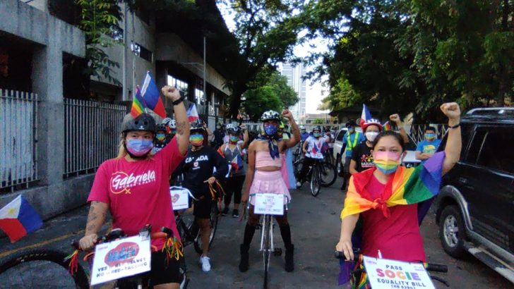 LGBTQIA, supporters 'ride with pride' for equality