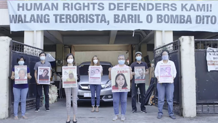 Red-tagged group gets international recognition for human rights work