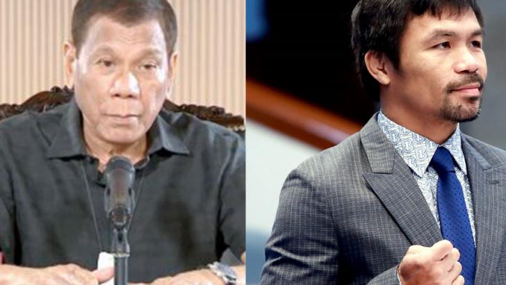 Pacquiao vs Duterte