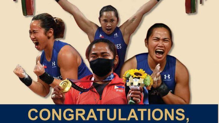 #Tokyo2020 | Hidilyn Diaz wins PH first Olympic Gold