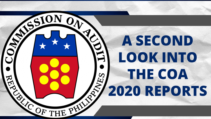 A second look at the COA findings