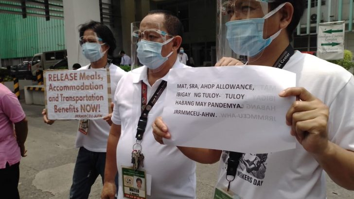 With recent COA findings on DOH, health workers feel 'deceived'