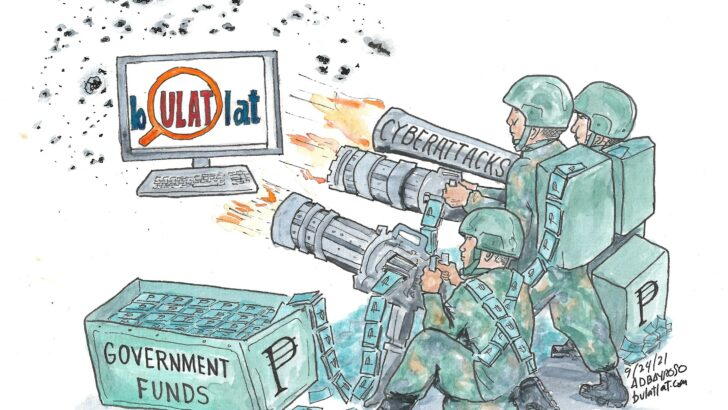 Normal browsing, what? PH Army intended to disrupt news sites, curtail free press, IT experts say