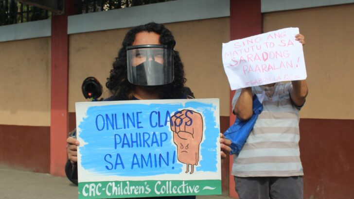 Teachers, students call for #LigtasNaBalikPaaralan on reopening of classes