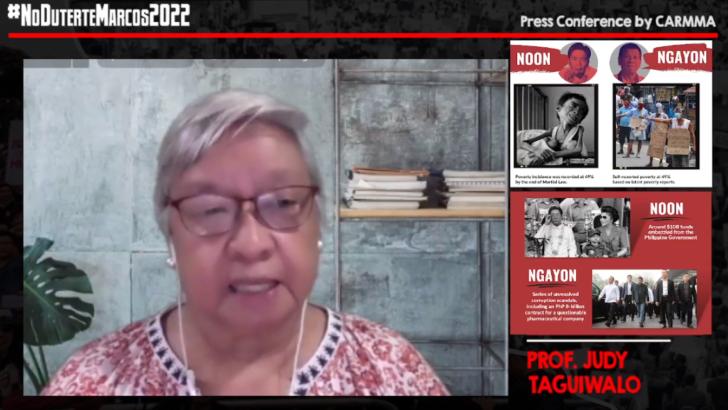 Martial law survivors campaign against Marcos-Duterte in 2022