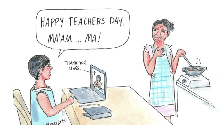 Teachers all